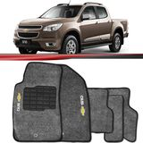 Tapete-Carpete-Personalizado-Grafite-S10-2012-2013-2014-Logo-Chevrolet-Bordado-2-Lados-Dianteiro-Cabine-Dupla