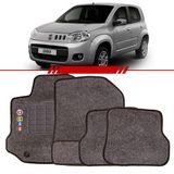 Tapete-Carpete-Personalizado-Grafite-Uno-Evo-2010-2011-2012-2013-2014-2015-2016-Logo-Fiat-Bordado-2-Lados-Dianteiro