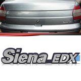 Emblema-Tampa-Porta-Malas-Siena-Edx-1996-1997-1998-1999-2000-Cromado-Fundo-Azul