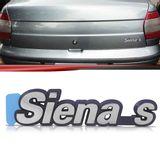 Emblema-Tampa-Porta-Malas-Siena-S-1996-1997-1998-1999-2000-Cromado-Fundo-Azul
