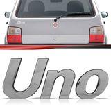 Emblema-Tampa-Porta-Malas-Uno-2004-2005-2006-2007-2008-2009-2010-2011-2012-2013-Cromado
