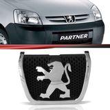 Emblema-Grade-Partner-2010-2011-2012-Cromado-Fundo-Preto
