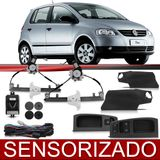 Kit-Vidro-Eletrico-Dianteiro-Sensorizado-Fox-2004-2005-2006-2007-2008-2009-4-Portas