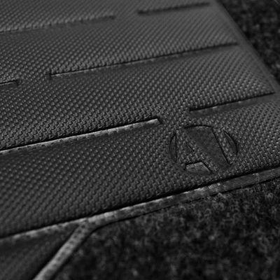 Tapete-Carpete-Preto-Peugeot-207-2007-2008-2009-Logo-Bordado-2-Lados-Dianteiro