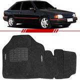 Tapete-Carpete-Grafite-Escort-Hobby-1993-1994-1995-1996-Logo-Bordado-2-Lados-Dianteiro