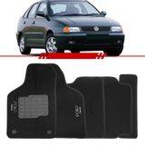 Tapete-Carpete-Preto-Polo-Classic-1997-1998-1999-2000-Logo-Bordado-2-Lados-Dianteiro