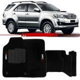 Tapete-Carpete-Personalizado-Preto-Hilux-Sw4-2011-2012-2013-2014-Logo-Toyota-Bordado-2-Lados-Dianteiro