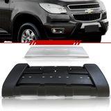 Combo-Chevrolet-S10-2012-2013-2014-2015-2016-Overbumper-Parachoque---Aplique-Overbumper-Dianteiro