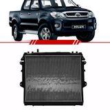 Radiador-Hilux-2.5-3.0-4x4-2005-2006-2007-2008-2009-2010-2011-com-Ar-Condicionado-Transmissao-Automatica-Brasado