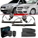 Combo-Palio-2004-2005-2006-2007-2008-2009-2010-2011-2012-Kit-Vidro-Eletrico-Dianteiro-Sensorizado-4-Portas---Alarme-Positron-Cyber-Fx-330