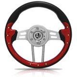 Volante-Esportivo-Mantis-Vermelho-320mm