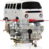Carburador-Kombi-1991-1992-1993-1994-1995-1996-Motor-1600-Dupla-Carburacao-a-Gasolina-Completo-Lado-Direito