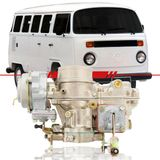Carburador-Kombi-1991-1992-1993-1994-1995-1996-Motor-1600-Dupla-Carburacao-a-Alcool-Completo-Lado-Direito