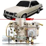 Carburador-Original-Brosol-Chevette-Marajo-Chevy-500-1982-Motor-1.4-a-Alcool-Completo