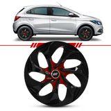 Jogo-Calota-Evolution-Black-Red-Brilho-Esportiva-Aro-14-Universal-4x100-4x108-4-Pecas