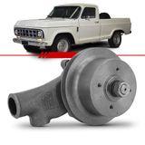 Bomba-D-Agua-com-Polia-Simples-A10-C10-D10-A14-C14-D14-1979-1980-1981-1982-1983-1984-Motor-4-Cilindros-Perkins-4236-a-Diesel