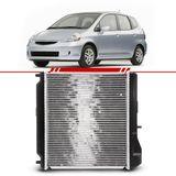 Radiador-Fit-1.4-8v-1.5-16v-2003-2004-2005-2006-2007-2008-com-Ar-Condicionado-com-e-sem-Transmissao-Automatica