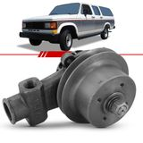 Bomba-D-Agua-com-Polia-Simples-D20-D40-Bonanza-Veraneio-1992-1993-1994-1995-1996-Motor-a-Diesel