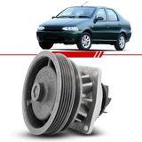 Bomba-D-Agua-com-Polia-Simples-Siena-Strada-1998-1999-2000-2001-2002-2003-2004-2005-2006-2007-2008-Palio-Tipo-Uno-com-Ar