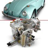 Carburador-Fusca-1984-1985-1986-Motor-1600-Carburacao-Simples-a-Gasolina-Completo
