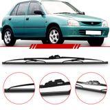 Palheta-Steel-Standard-Dianteira-Charade-1993-1994-1995-1996-1997-1998-1999-Limpador-de-Parabrisa-Modelo-Rodo-18-Polegadas