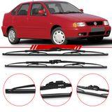 Par-de-Palhetas-Steel-Standard-Dianteira-Polo-Sedan-Classic-Van-1997-1998-1999-2000-2001-Limpador-de-Parabrisa-Modelo-Rodo-18-e-20-Polegadas