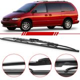 Palheta-Standard-Traseira-Caravan-1996-1997-1998-1999-2000-2001-2002-2003-2004-2005-2006-2007-Modelo-Rodo-Flexivel-18-Polegadas