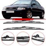 Par-de-Palhetas-Standard-Dianteira-Audi-A4-1994-1995-1996-1997-1998-1999-2000-80-100-Rs2-Rs4-S4-Limpador-de-Parabrisa-Modelo-Rodo-21-Polegadas