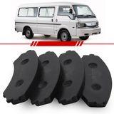 Jogo-Pastilha-de-Freio-Dianteira-Mazda-E2000-E2200-1997-1998-1999-2000-Sistema-Sumitomo