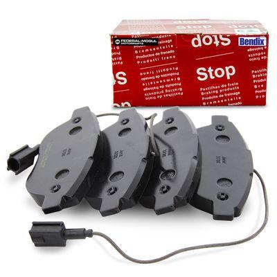 Jogo-Pastilha-de-Freio-Dianteira-Stilo-1.8-16v-2.4-20v-2002-2003-2004-2005-2006-2007-2008-2009-Sistema-Bosch-com-Sensor-de-Desgaste