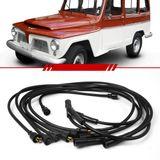 Jogo-Cabo-de-Vela-Ignicao-Supressivo-Rural-Willys-6cc-1959-1960-1961-1962-1963-1964-1965-1966-1967-1968-1969-1970-1971-1972-1973-1974-1975-Preto