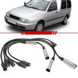 Jogo-Cabo-de-Vela-Ignicao-Supressivo-Volkswagen-Van-1.6-8v-Mi-1998-1999-2000-2001-2002-2003-Preto