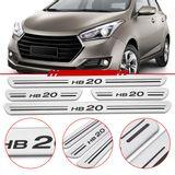 Jogo-Soleira-Resinada-de-Porta-Hyundai-Personalizada-Hb20-2012-2013-2014-2015-4-Pecas-Larga-Aco-Escovado