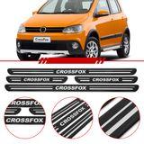 Jogo-Soleira-Resinada-de-Porta-Volkswagen-Personalizada-Crossfox-2011-2012-2013-2014-4-Pecas-Estreita-Preta