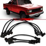 Jogo-Cabo-de-Vela-Ignicao-Supressivo-Preto-Chevrolet-A10-A20-Motor-250-6cc-1985-1986-1987-1988-1989-1990-1991-1992-1993-1994-1995