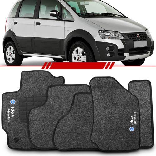 Tapete-Carpete-Grafite-Idea-Adventure-2007-2008-Logo-Fiat-Azul-Bordado-2-Lados-Dianteiro
