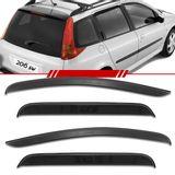 Jogo-Calha-de-Chuva-Peugeot-206-Sw-2005-2006-2007-2008-Defletor-4-Portas
