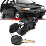 Macaneta-Externa-Tampa-do-Porta-Malas-Gol-1995-1996-1997-1998-1999-2-e-4-Portas-Eletrica-Preta-com-Chave