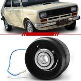 Cubo-Para-Volante-147-1976-1977-1978-1979-1980-Fiorino-com-Capa-de-Plastico-Preta