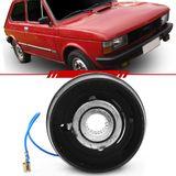 Cubo-Para-Volante-Fiat-147-1981-1982-1983-1984-1985-1986-Oggi-Panorama-Fiorino-com-Capa-de-Plastico-Preta