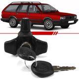 Macaneta-Externa-Tampa-do-Porta-Malas-Quantum-1985-1986-1987-1988-1989-1990-1991-2-e-4-Portas-Eletrica-Preta-com-Chave