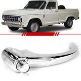 Macaneta-Externa-Porta-Dianteira-Pick-Up-A10-1980-1981-1982-1983-1984-C10-C14-D10-Veraneio-Cromado-sem-Chave