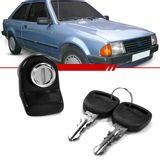 Macaneta-Externa-Tampa-do-Porta-Malas-Escort-1983-1984-1985-1986-2-e-4-Portas-Eletrica-Preta-com-Chave