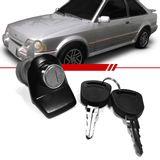 Macaneta-Externa-Tampa-do-Porta-Malas-Escort-1987-1988-1989-1990-1991-1992-2-e-4-Portas-Preta-com-Chave