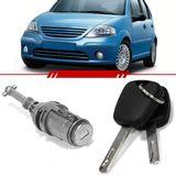 Cilindro-Porta-Dianteira-Citroen-C3-2002-2003-2004-2005-2006-2007-2008-2009-2010-2011-2012-com-Chave-4-Portas