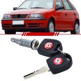Cilindro-Porta-Dianteira-Gol-1999-2000-2001-2002-2003-2004-2005-2006-2007-2008-Parati-Saveiro-com-Chave-Perfil-Snake-Key-2-e-4-Portas