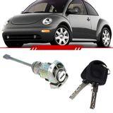 Cilindro-Porta-Dianteira-Lado-Esquerdo-New-Beetle-1999-2000-2001-2002-2003-2004-2005-2006-2007-2008-2009-2010-com-Chave