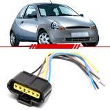 Chicote-Sensor-do-Fluxo-de-Ar-Porta-Femea-Ka-1997-1998-1999-2000-2001-2002-2003-2004-2005-2006-2007-Fiesta-Courier-6-Vias