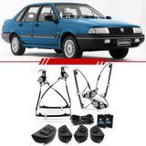 Kit-Vidro-Eletrico-Sensorizado-Santana-1986-1987-1988-1989-1990-1991-1992-1993-1994-1995-1996-1997-1998-4-Portas-Completo