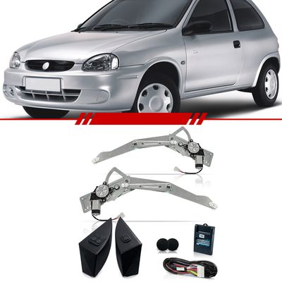 Kit-Vidro-Eletrico-Simples-Corsa-Classic-2003-2004-2005-2006-2007-2008-2009-2010-Classic-2011-2012-2013-2014-2015-2016-4-Portas-Dianteiro